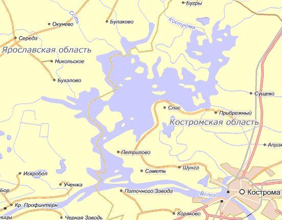 Туда поездом до Костромы,