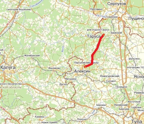Красная линия примерный маршрут